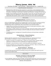 Rn Nurse Resume Templates