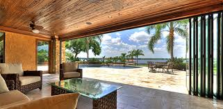 folding glass walls. Multi Slide Door Looking Out On Bay Folding Glass Walls L