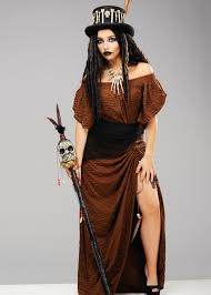 womens voodoo witch doctor dress costume dress only