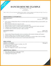 Dance Audition Resumes Sample Dance Resumes Audition Resume Template Child Vocal