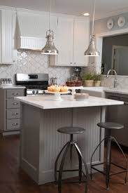 Kitchen Cabinets Beadboard As Seen On Hgtvs Fixer Upper Love The Gray Beadboard On The