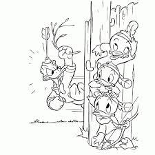 25 Bladeren Neefjes Donald Duck Kleurplaat Mandala Kleurplaat Voor