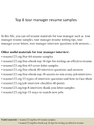 Tour Manager Resume top10000tourmanagerresumesamples1006310000jpgcb=1004271000053672 2