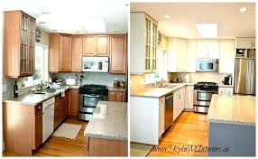 how to paint my kitchen cabinets white without sanding do i oak