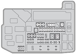 toyota prius v fuse box diagram auto genius toyota prius v 2012 fuse box diagram