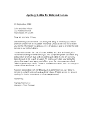 apology letter for delay in payment business letter apology for delay the letter sample