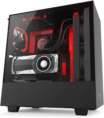 Red Pc Case Lighting Nzxt H500i Compact Atx Mid Tower Pc Gaming Case Rgb Lighting And Fan Control Cam Powered Smart Device Enhanced Cable Management System