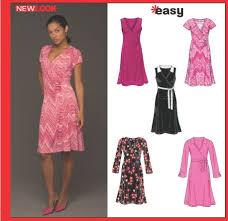 Knit Dress Pattern Gorgeous New Look 48 Misses' Knit Dress