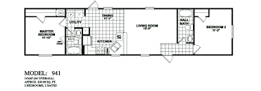 model 941 14x60 2bedroom 2bath oak creek mobile