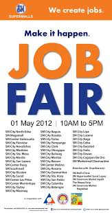 What Happens At A Job Fair Manila Life Sm Supermalls Job Fair 2012