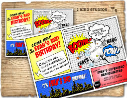 superheroes birthday party invitations superhero invitation superhero birthday invite diy superhero