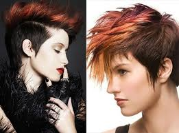 Faux Hawk Hairstyles for Women   Hairstyles Weekly besides  moreover  additionally  likewise  further 20 Newest Faux Hawks for Girls and Women further Best 10  Pixie faux hawk ideas on Pinterest   Funky short hair furthermore  moreover  also 198 best Cut images on Pinterest   Hairstyles  Hair and Make up additionally 20 Stylish Colors for Short Hair   Pretty Designs. on faux hawk black hair color