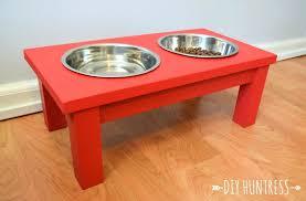 wood dog bowls dog bowl stand huntress what need wood dog food bowl stand