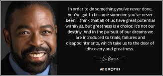 Les Brown Quotes Beauteous TOP 48 QUOTES BY LES BROWN Of 48 AZ Quotes