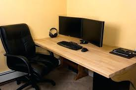 diy butcher block desk image of ideas office diy butcher block desk