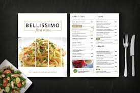 Free Food Menu Template Beauteous Best Ideas Of Menu Template For Pages Mac Free About Restaurant
