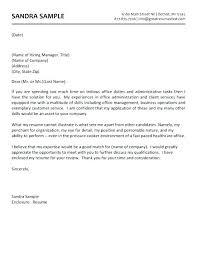 Education Administration Cover Letter Canovianoclassico Com