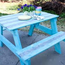 build a picnic table diy picnic table with built in cooler