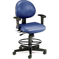 ofm ergonomic fabric executive computer task chair with drafting kit. ofm 24 hour ergonomic computer task chair with arms and drafting kit, blue ofm fabric executive kit