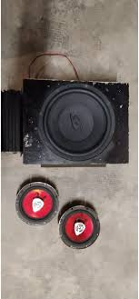 subwoofer + amplificatore + 2 casse in 10078 Venaria Reale for €45.00 for  sale