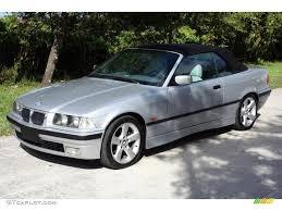 BMW 3 Series 1998 bmw 3 series : 1998 Arctic Silver Metallic BMW 3 Series 323i Convertible ...