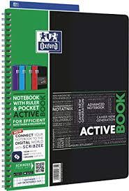 Kolonotatnik A4 Oxford W Kratke 80 Kartek Activebook Mix Amazon Co
