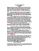analysis of edgar allan poe the raven gcse english marked   amp quot the raven amp quot by edgar a poe oral commentary