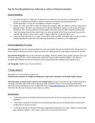 letter of recommendation for student with disabilities tips for providing references referrals or letters of