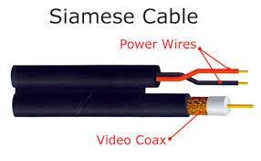 cctv installation and wiring options siamese cable network ip systems