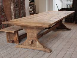 Reclaimed Oak Dining Table Oak Kitchen Table Home Design And Decorating