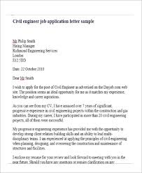 Structural Engineering Position Cover Letter Job Application Letter