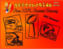 bold bossy football helmet coloring pages nfl coloring nfc teams pro football coloring pages 01 you