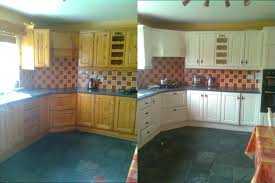 before after kitchen painting by perfect home dublin