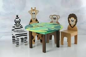 round childrens table round natural kids