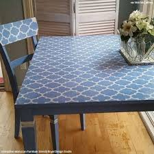 stenciling furniture ideas. 15 chic stencil ideas for diy painted furniture upcycled projects stenciling s