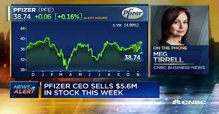 Coronavirus vaccine: Pfizer CEO sold $5.6 million of stock as company  announced positive data