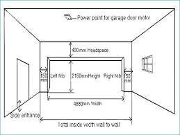 double garage door size garage door standard sizes dimension standard garage one car size standard double