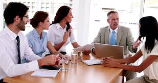 the office the meeting. Business People Working Together At Meeting In The Office Stock Footage Video 6874534 | Shutterstock G