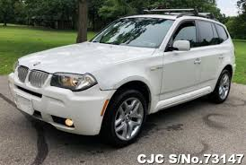 2008 Left Hand Bmw X3 Alpine White For Sale Stock No 73147 Left Hand Used Cars Exporter