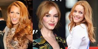 15 Celebrity Strawberry Blonde Hair Looks