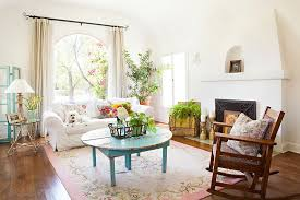 View in gallery Flea market finds are always a hit in the shabby chic  living room [Design: