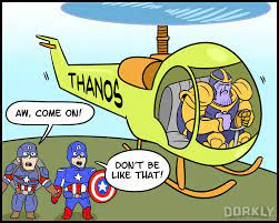 What's Taking Thanos So Long To Get To ...