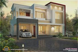 kerala house design flat roof lovely modern flat roof house in 1820 square feet kerala home