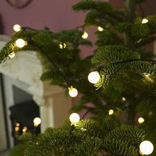 Christmas Berry Lights Uk 10m Outdoor Christmas Tree Berry Fairy Lights 100 Leds