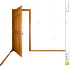 open door clipart. Open Gate Bitmap Clipart Door