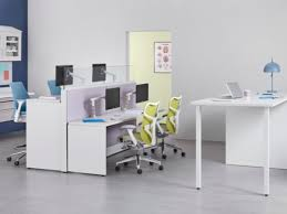 office work surfaces. Ethospace Nurses Station Elements Create Work Surfaces Of Various Heights In A Healthcare Administrative Area. Office