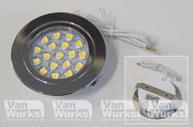 recessed touch sensitive led light