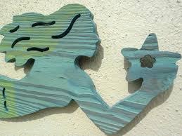 wooden mermaid wall art attractive inspiration ideas wooden mermaid wall hanging routed wood nautical art home wooden mermaid wall art