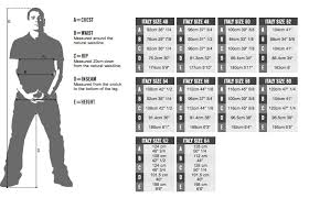 Waist Size Conversion Chart Apparel Sizing Chart For Alpinestars Motorcyclegear Com