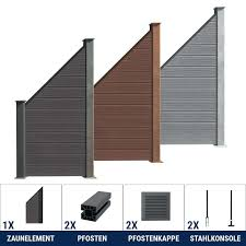 Paravent Outdoor Bauhaus Bauhaus Wpc Haus Wpc Zaun Kombination Mit